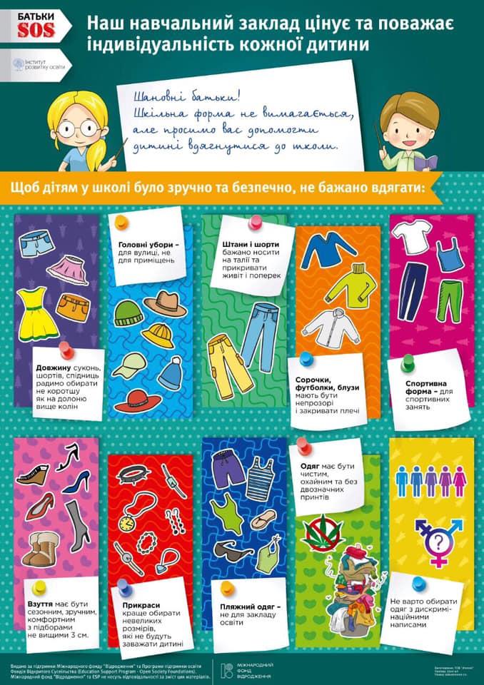 Плакати розкажуть про права і обов'язки учителів, учнів та батьків -  - batky3 1