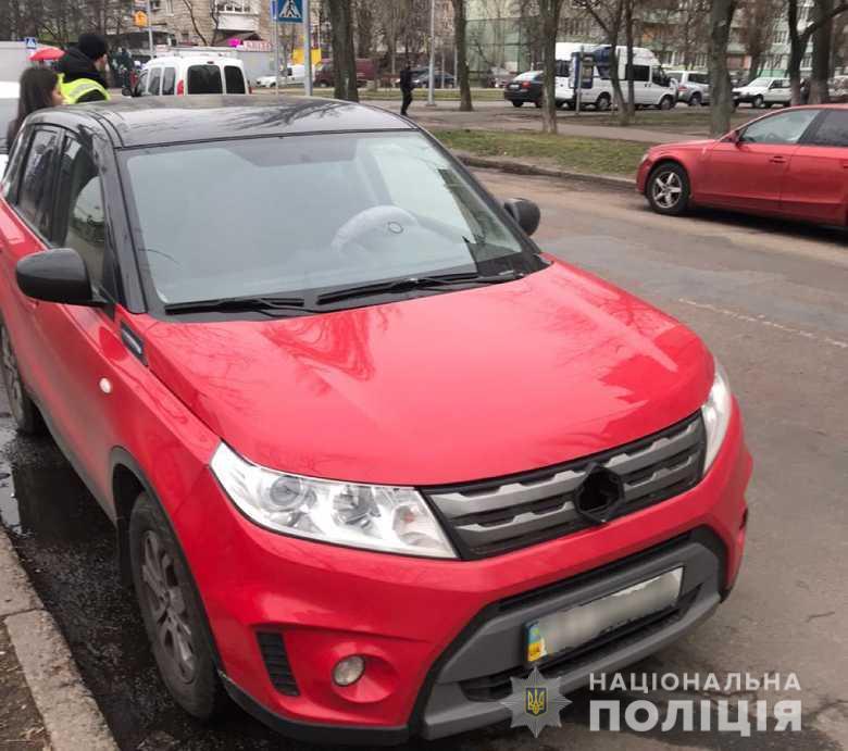 У Києві затримали іноземця, який пограбував автівку - кримінал, Грабіж - dnhrabopv03205