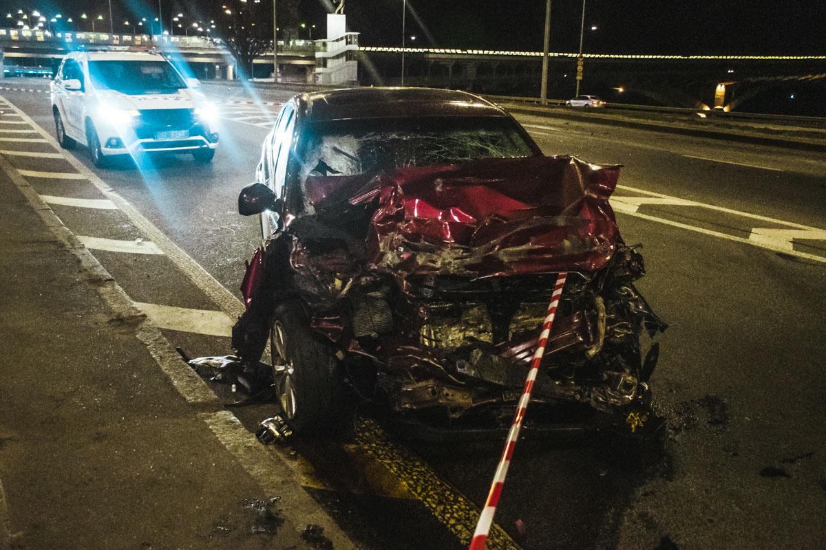 Смертельна ДТП в столиці: пасажир загинув, водій в критичному стані -  - dtp 10 of 15