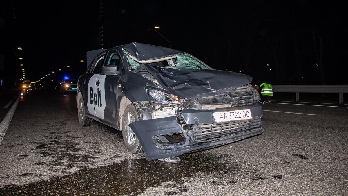 У столиці таксист насмерть збив пішохода -  - dtp zhytomyrskaya