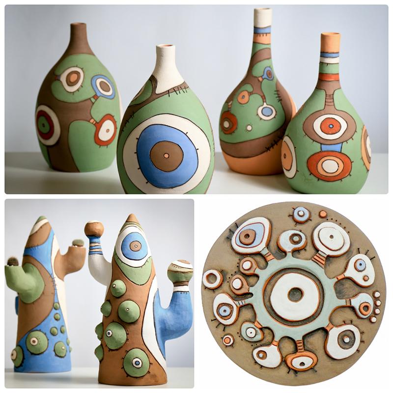 «ЦеГлина 2020»: стартував художній проєкт сучасної кераміки для професійних керамістів -  - keramyka Anelise Bredow glynyanaya