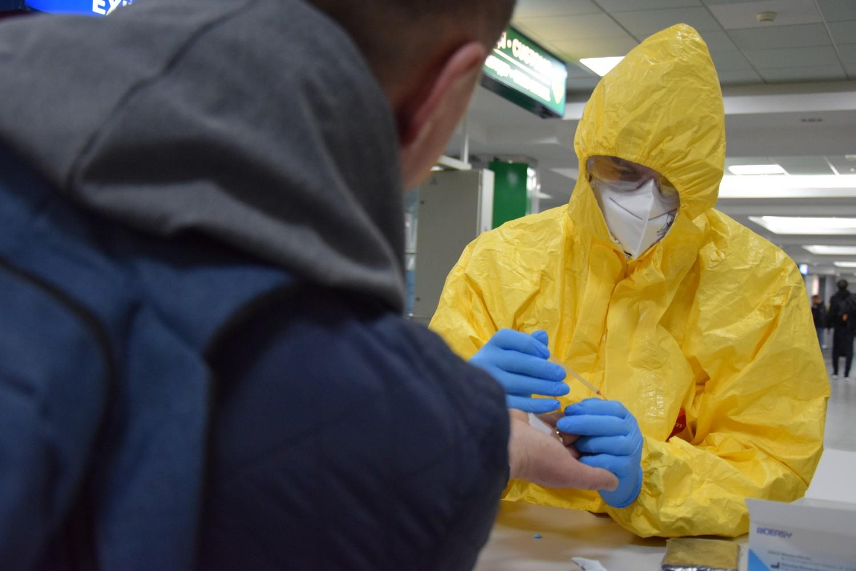 """Як в ДП МА """"Бориспіль"""" проводять експрестест на коронавірус (відео) -  - news 20200324 140316 1585051396"""