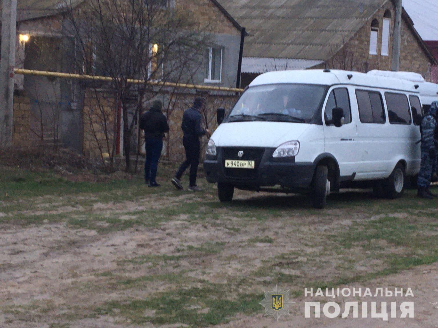 Незаконні обшуки в Бахчисараї: українська поліція відкрила справу -  - ob2