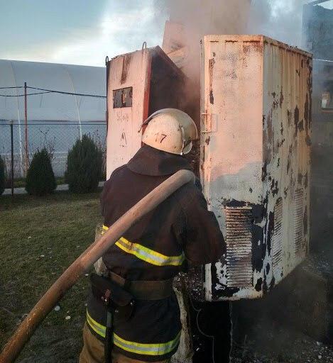 Біля новобудов Ірпеня вибухнув трансформатор -  - photo 2020 03 13 08 40 35 2