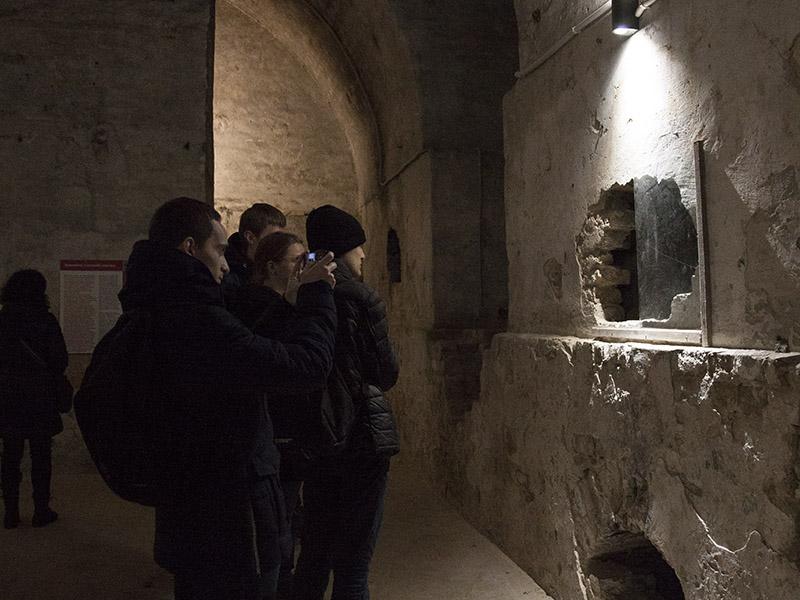 Підземелля Луцька відкрили для екскурсантів -  - pidz eks1