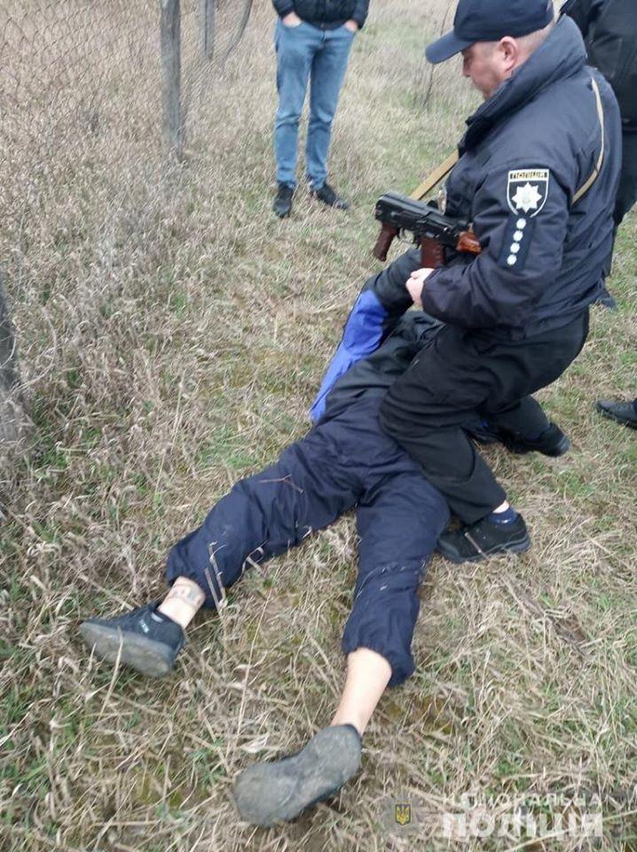 Вишгородські поліцейські оперативно затримали нападників на продавчиню - розбійний напад, Поліція, київщина, Вишгородський район - polits1