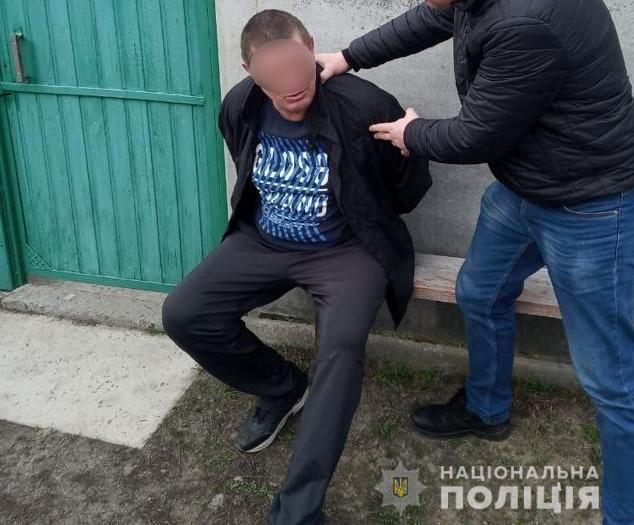 Вишгородські поліцейські оперативно затримали нападників на продавчиню - розбійний напад, Поліція, київщина, Вишгородський район - polits osn
