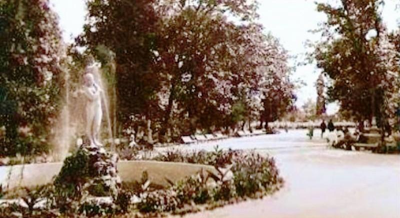Скульптури біля київських фонтанів - київщина, Київ, історія - skul3