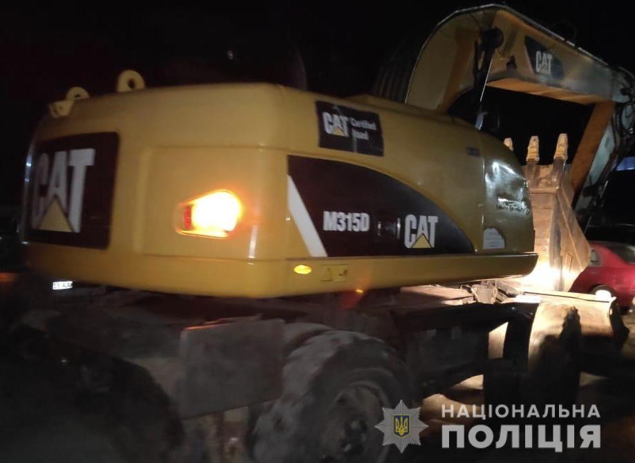 Незаконна вирубка лісу в Ірпені: втрутилась поліція - Поліція, кримінал, київщина, ірпінь - sosny4