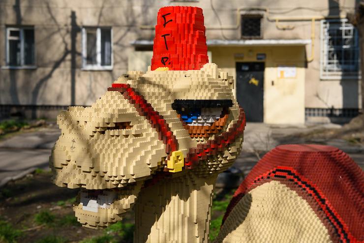"""В одеському дворі """"живе"""" власний верблюд та крокодил - Одеса - verblyud2"""