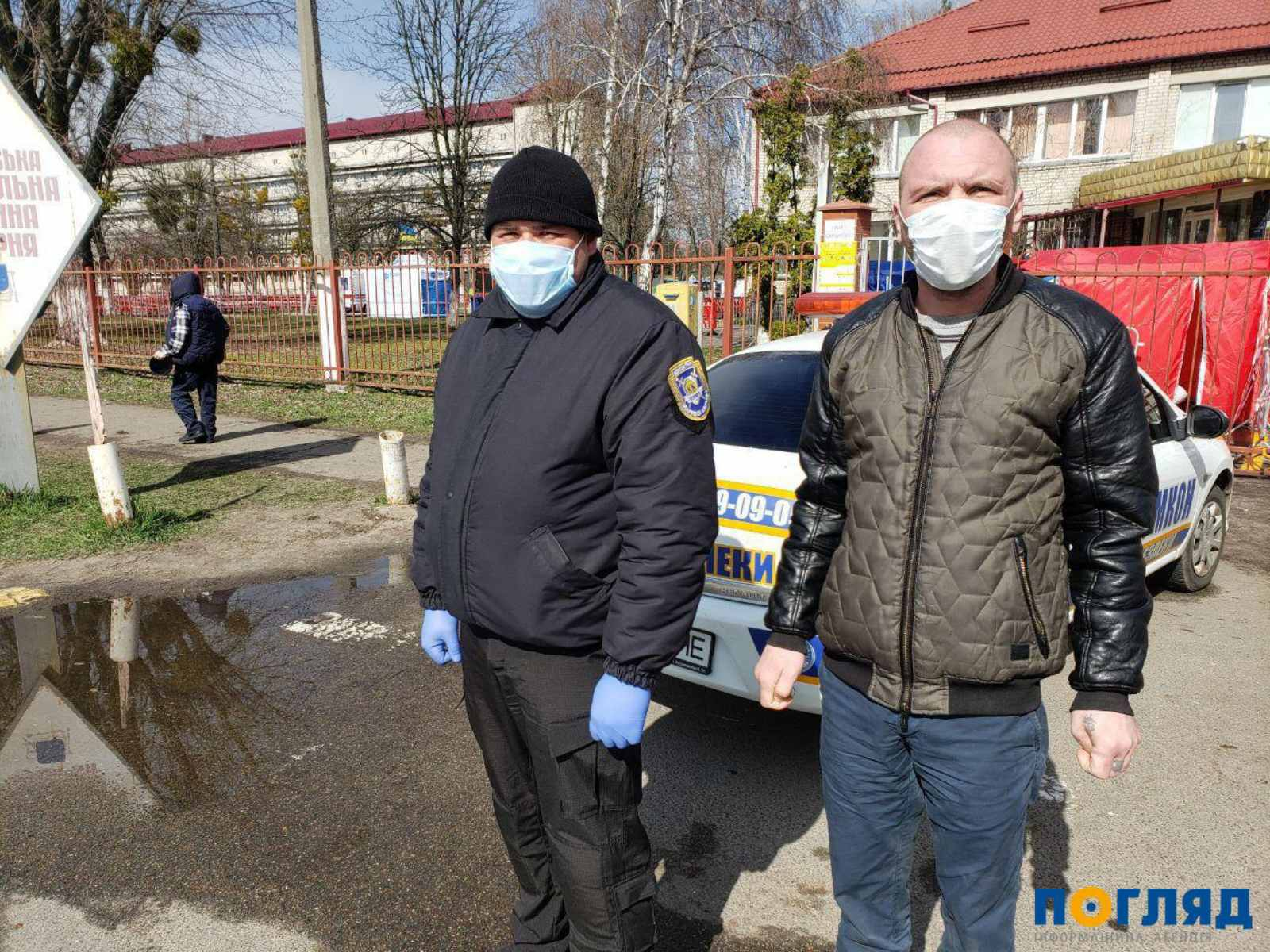 Через паркан швидше: у Броварах затримали порушника правил карантину -  - yzobrazhenye viber 2020 03 31 15 44 40