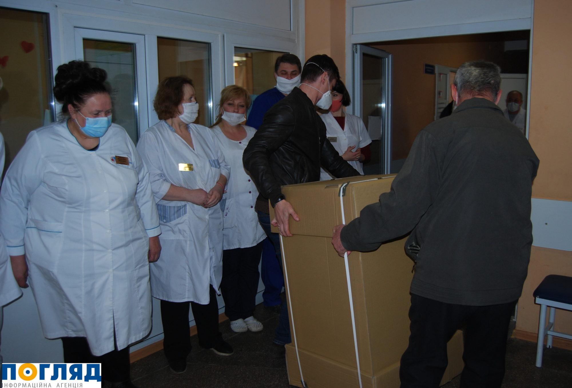 Васильківській лікарні меценат подарував 3 апарати ШВЛ – тепер їх 15 - ШВЛ, Васильків - 000DSC 4032 2000x1358
