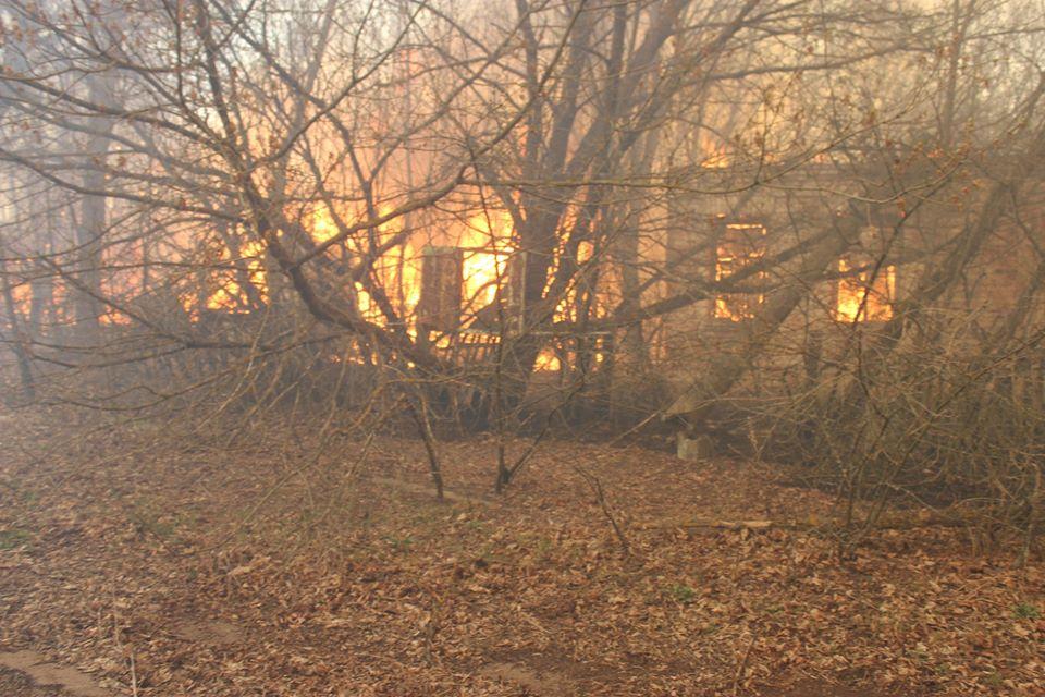Боротьба з лісовими пожежами в зоні ЧАЕС (ФОТО) -  - 002