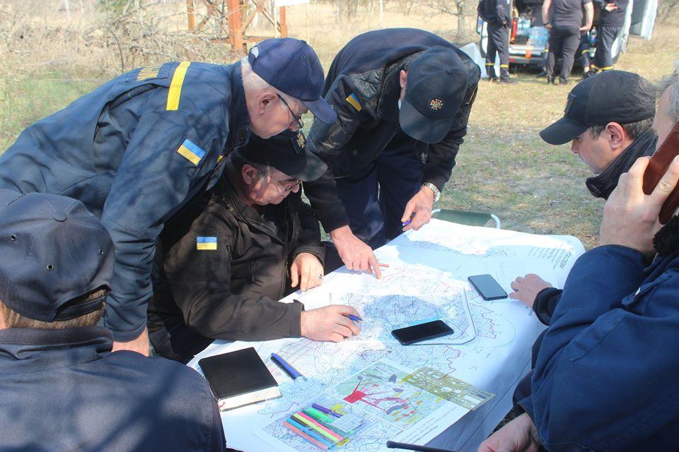 Боротьба з лісовими пожежами в зоні ЧАЕС (ФОТО) -  - 010