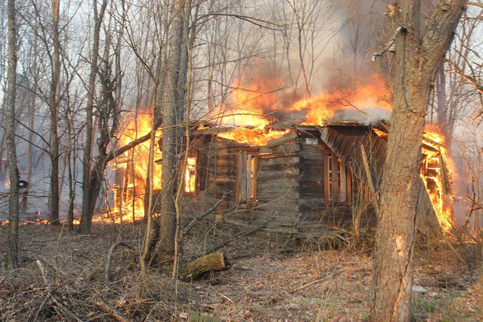 Боротьба з лісовими пожежами в зоні ЧАЕС (ФОТО) -  - 017
