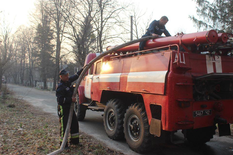 Боротьба з лісовими пожежами в зоні ЧАЕС (ФОТО) -  - 018