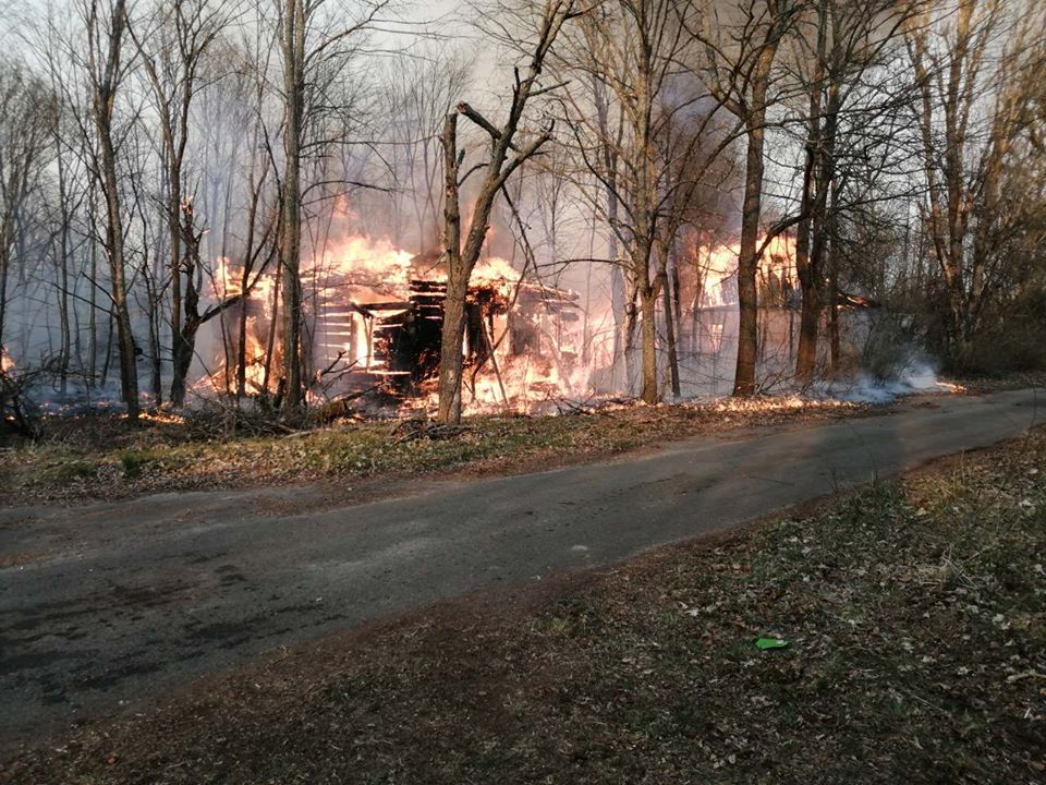 Боротьба з лісовими пожежами в зоні ЧАЕС (ФОТО) -  - 020