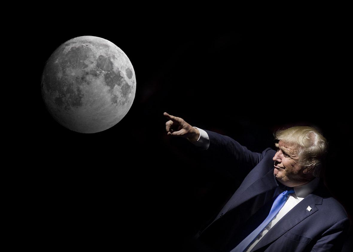 США «отримали» право використовувати ресурси Місяця - Місяць, космос - 07 tramp