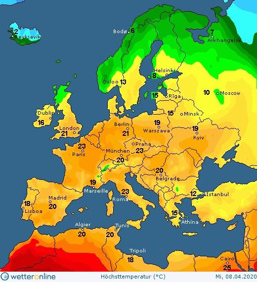 Вночі заморозки, а вдень сонячно та тепло: погода 8 квітня на Київщині - погода - 08 pogoda2