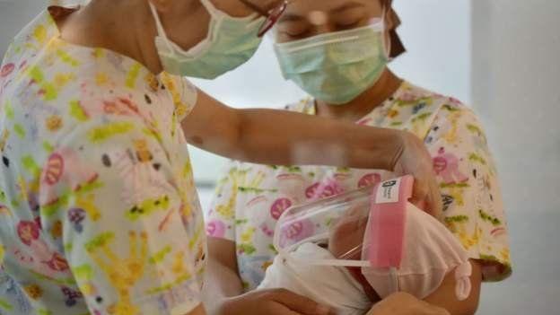 У Таїланді використовують додатковий захист немовлятам від коронавірусу - коронавірус - 111746211 1057f522 6a13 4294 a5c0 b9fbfd85db8e