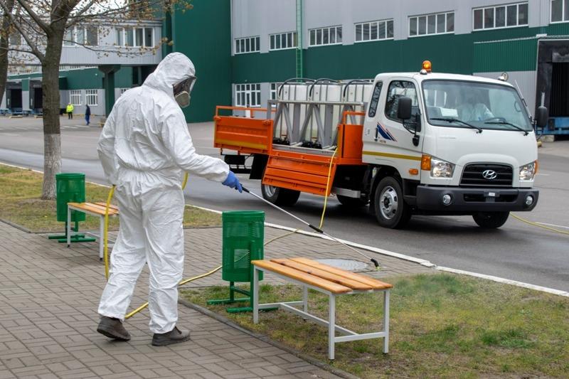 В Україні презентували нове авто для дезінфекції -  - 13