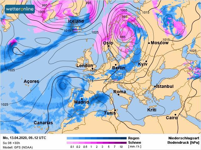 13 квітня на Київщині буде сонячно та тепло, але вітряно - прогноз погоди, погода - 13 pogoda3