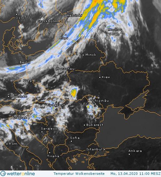 Погрілися і досить: 14 квітня на Київщині очікується різке похолодання, дощ та сніг - погода - 14 pogoda4