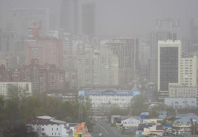 У Києві в повітрі зафіксовані продукти горіння, – КМДА - повітря, забруднене повітря - 16 pyl2 1