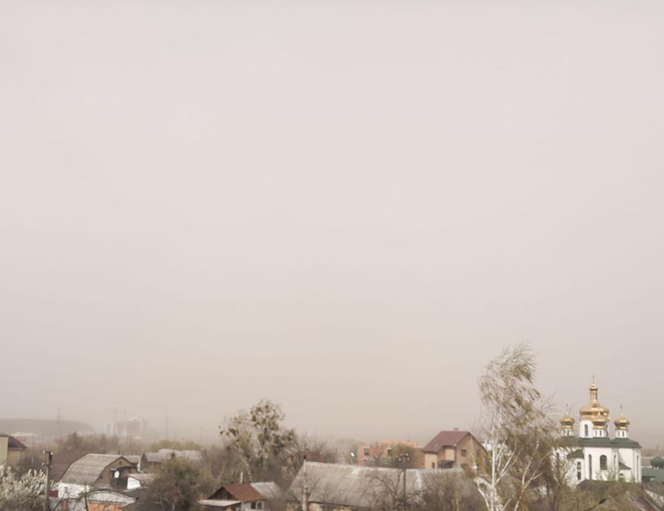 Завтра, 17-го квітня, вітер стихне: синоптик пояснила причину пилової бурі на Київщині - шквал, погода, вітер - 16 synoptyk2