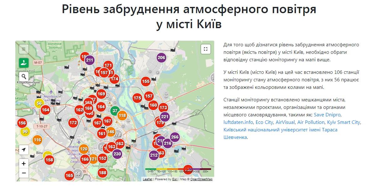 Київ другий день поспіль очолює рейтинг міст світу з найбруднішим повітрям - рейтинг, повітря, Київ, забруднене повітря - 17 vozduh2