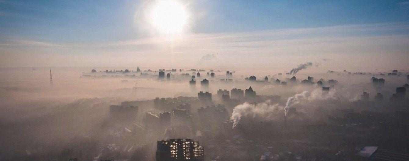 Стан повітря в Києві трохи покращується -  - 1ec77848ade22596ea3524a7a2d1d058