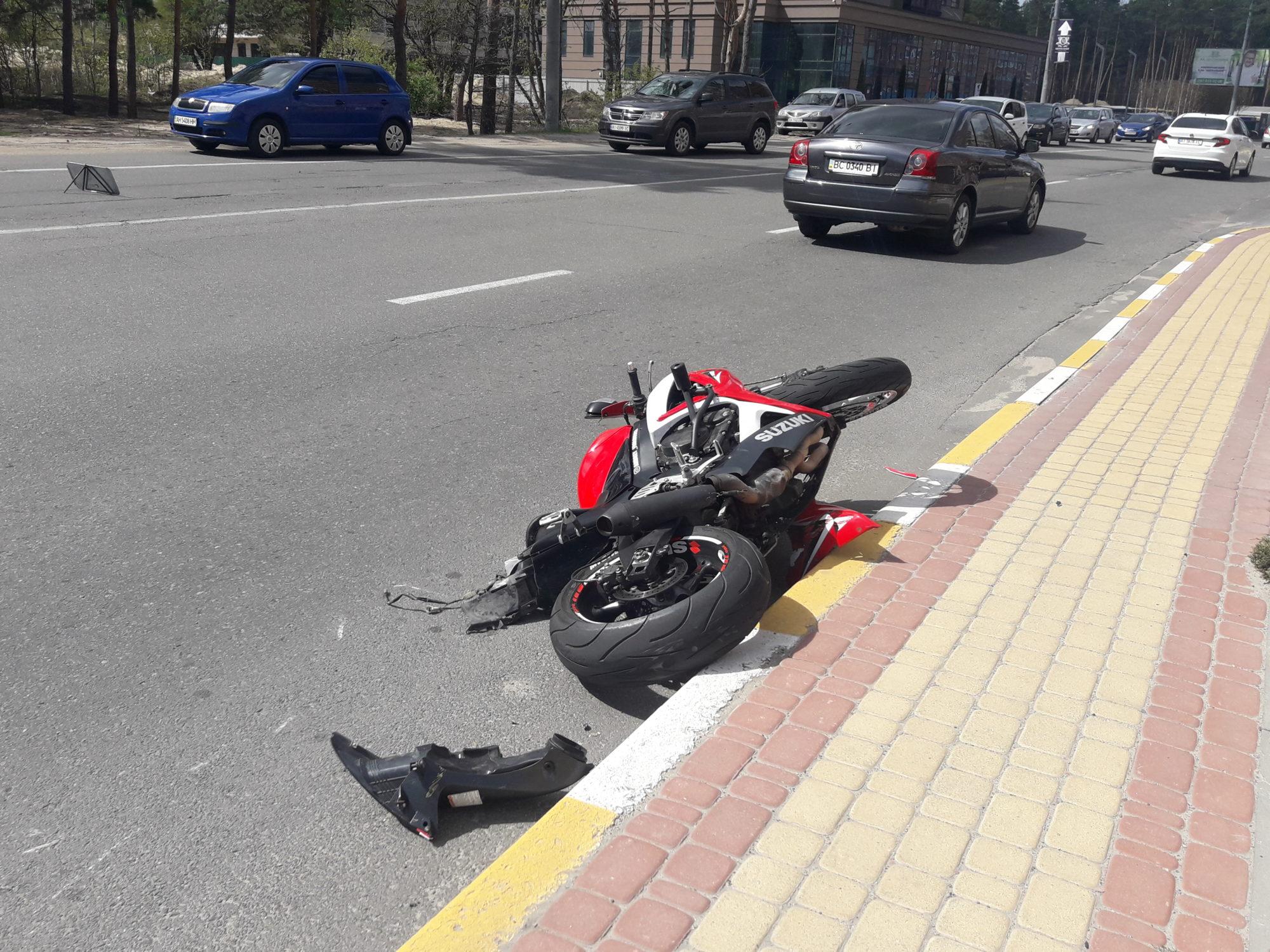 В Ірпені сталася смертельна мотоДТП -  - 20200427 142721 2000x1500