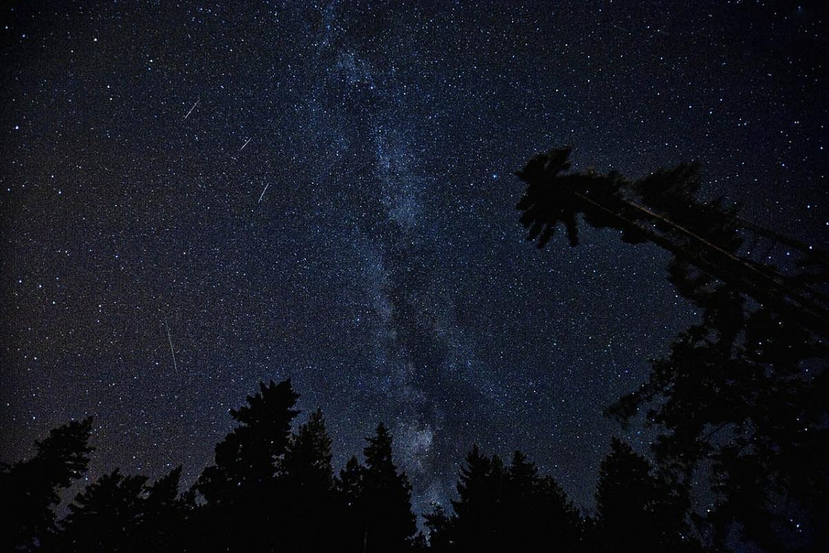 Над Україною «проллється» метеорний потік Ліріди -  - 21 zvezdnyj potok