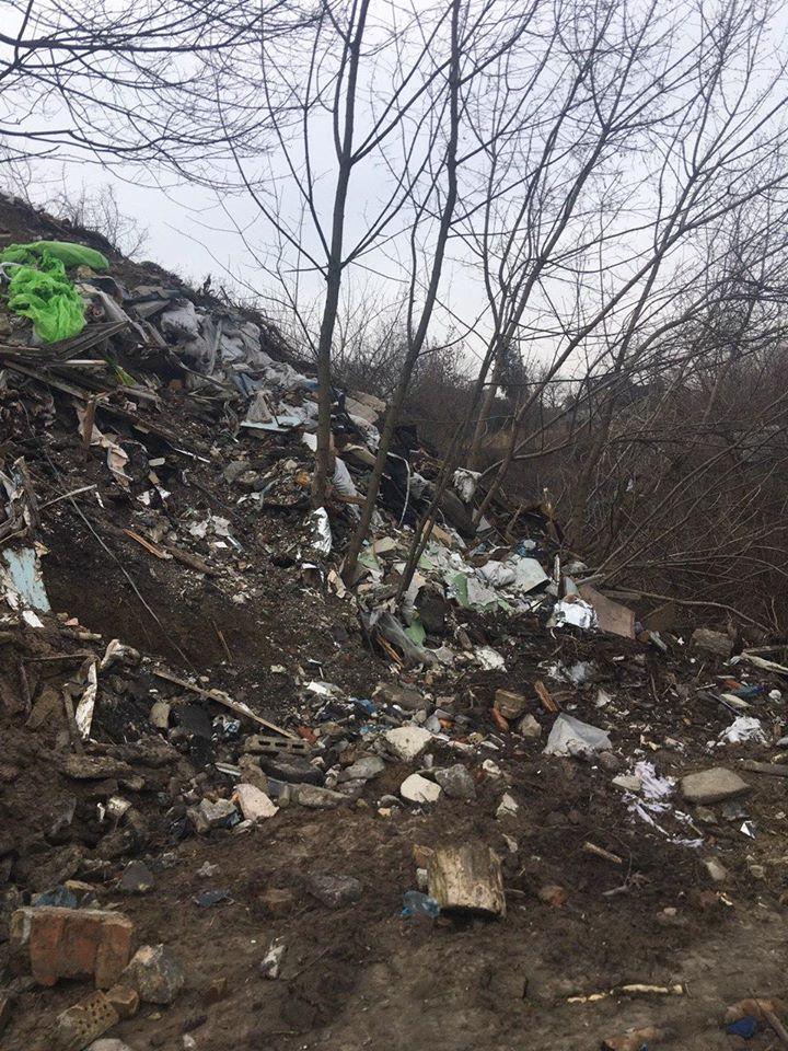 Незаконне сміттєзвалище у Шевченківському районі Києва: екологічні збитки 30 млн грн - ТПВ, сміттєзвалище - 29 zbytky2