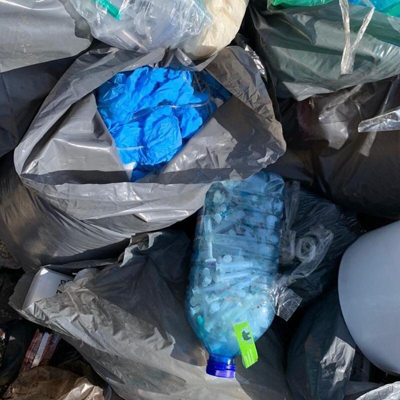 Відходи із київських лікарень вивозили на стихійні сміттєзвалища Київщини -  - 31908