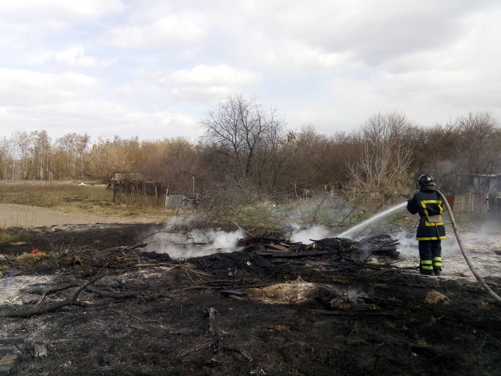 З'явилися подробиці масштабної пожежі між Ірпенем і Бучею -  - 3333