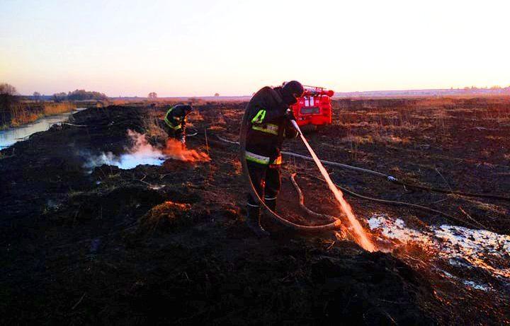 На Київщині після масштабної пожежі сухостою п'ять днів гасили пожежу на торфовищах (ВІДЕО) - торфовище, пожежа - 4 2