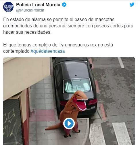 Коза, іграшковий пес, курка, краб і риба: кого вигулюють на карантині іспанці -  - 4