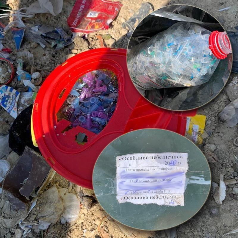 Відходи із київських лікарень вивозили на стихійні сміттєзвалища Київщини -  - 41369