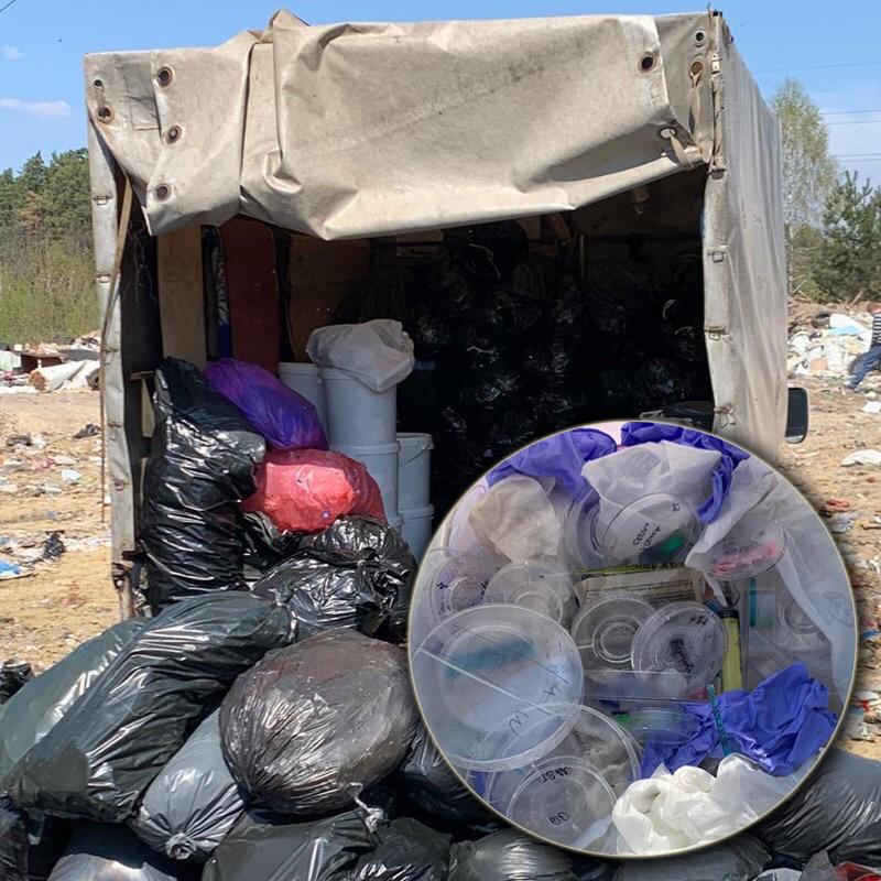Відходи із київських лікарень вивозили на стихійні сміттєзвалища Київщини -  - 5958