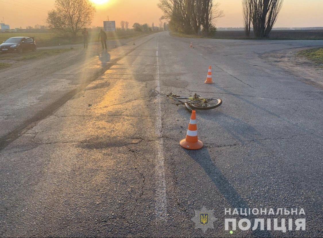На Васильківщині водій вантажівки наїхав на неповнолітнього велосипедиста - ДТП - 8AD3BB73 C556 432E A91C 200D04EB5BCE