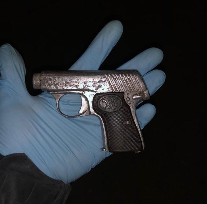 У фастівчанина виявили пістолет з набоями: його затримали - Фастівське відділення поліції, Фастів, зброя - 91390215 1344260279116249 2582977358831026176 o