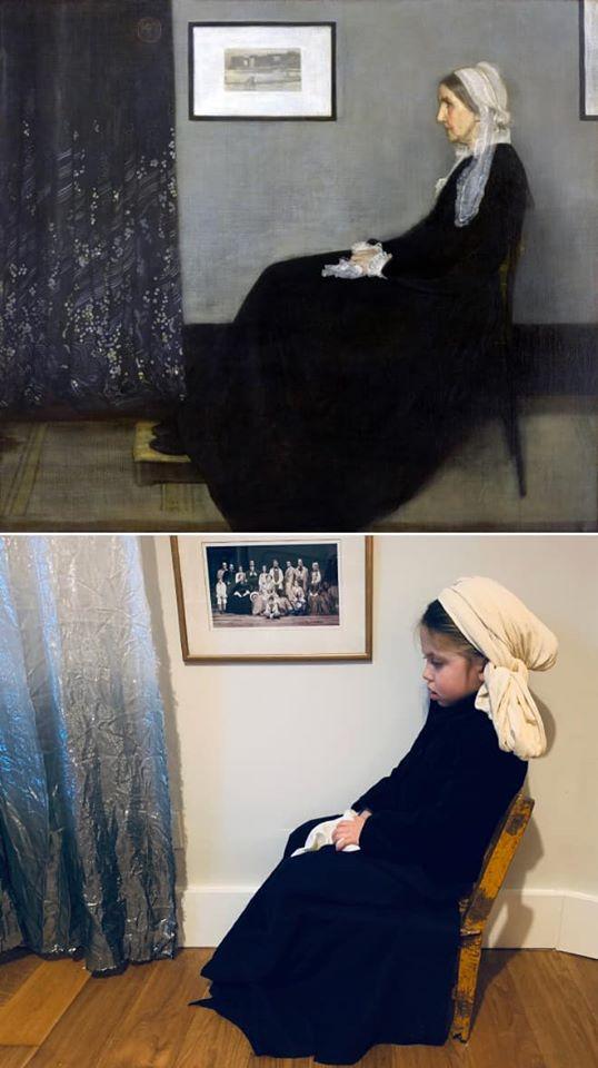 """""""Картини"""" під час карантину: новий флешмоб від музею -  - 91477193 2514295542007714 5314554324041334784 o"""