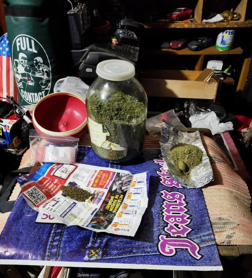 В м. Українка поліцейські у ділка виявили наркозілля -  - 91785630 2104404799703719 4193726515877249024 n