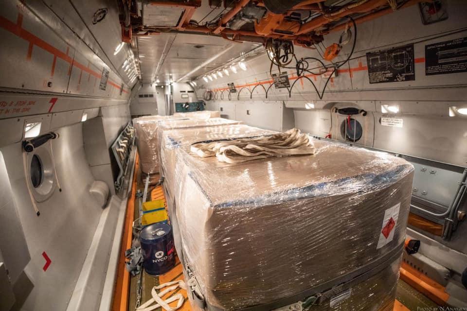 Для боротьби із COVID-19 Україна передала Італії п'ять тон дезінфікуючої рідини -  - 92228165 2903442716409067 6961596405710323712 n