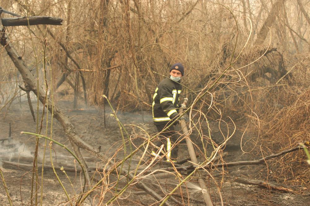 У зоні відчуження ЧАЕС триває ліквідація пожеж -  - 92347916 3153560994662707 3440038349035798528 o