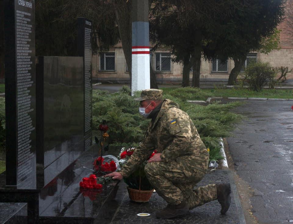 У Білій Церкві воїни 72-ї бригади відкрили меморіал пам'яті полеглих на війні побратимів - Війна на Сході України, Біла Церква - 92637994 2683172385144047 3442267647515820032 n