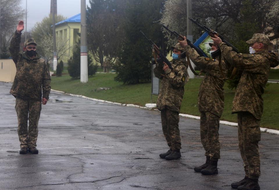 У Білій Церкві воїни 72-ї бригади відкрили меморіал пам'яті полеглих на війні побратимів - Війна на Сході України, Біла Церква - 92637994 2683172708477348 7936593280853082112 n