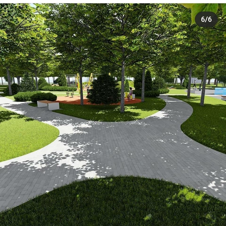У Фастові оприлюднили проєкт реконструкції міського парку імені Гагаріна - Фастів, реконструкція, парк імені Гагаріна - 92685713 2937890092998326 193185146482982912 n