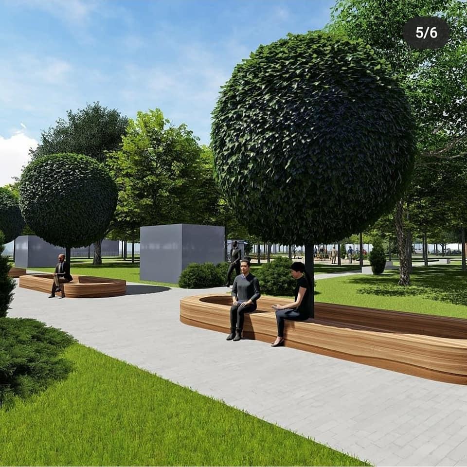 У Фастові оприлюднили проєкт реконструкції міського парку імені Гагаріна - Фастів, реконструкція, парк імені Гагаріна - 92697598 2937890709664931 8101960529750261760 n